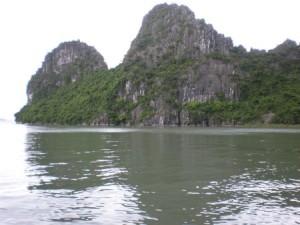 halong bay green waters
