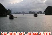 Halong Bay Scam Alert