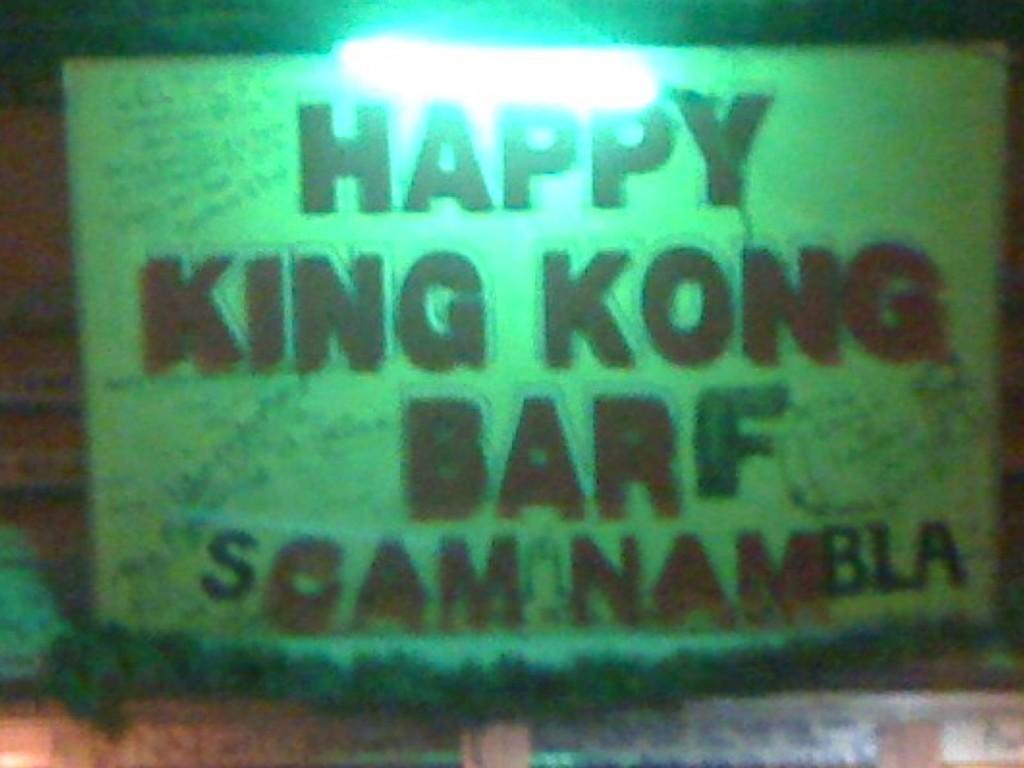 Happy King Kong Bar