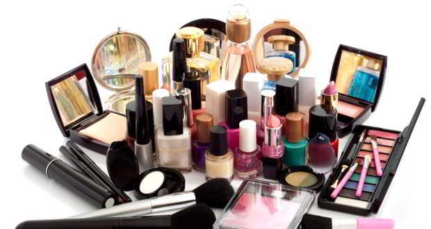 lots of cosmetics