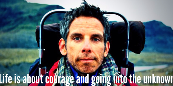 walter mitty with quote